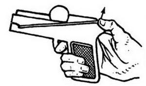 Пистолет из бумаги своими руками: схемы с фото и видео в фото