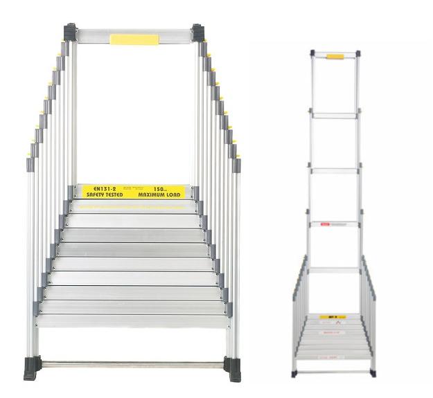 Раздвижная лестница Shtok