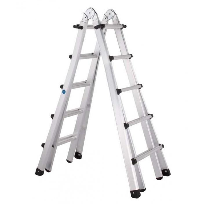 Шарнирная телескопическая лестница