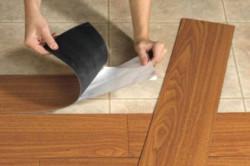 Укладка винилового ламината: особенности монтажа в фото