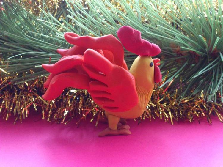 Поделка петух на новый год: 10 способов сделать петушка своими руками + фото в фото