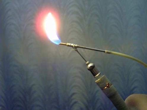 Самодельная газовая горелка в фото