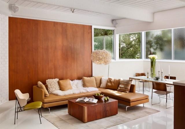 Деревянная стена в интерьере — советы по созданию эко-стиля (38 фото)