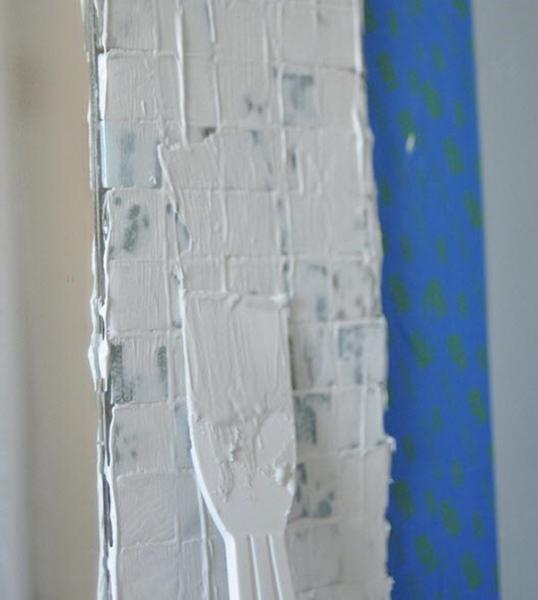Зеркало с мозаикой в ванной комнате своими руками в фото