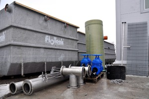 Очистные сооружения для автономной канализации Флотенк в фото