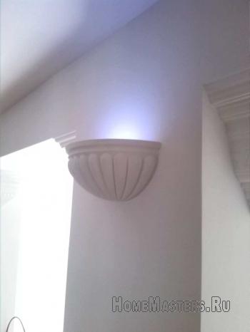 Оригинальный светильник своими руками в фото