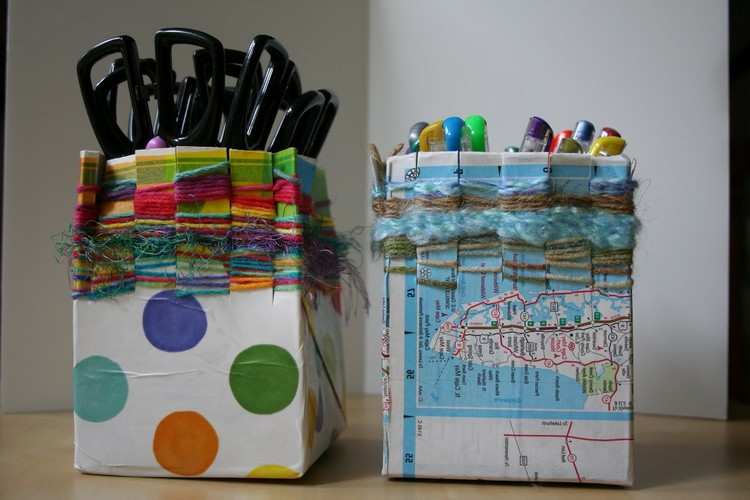 Как сделать из коробки от краски