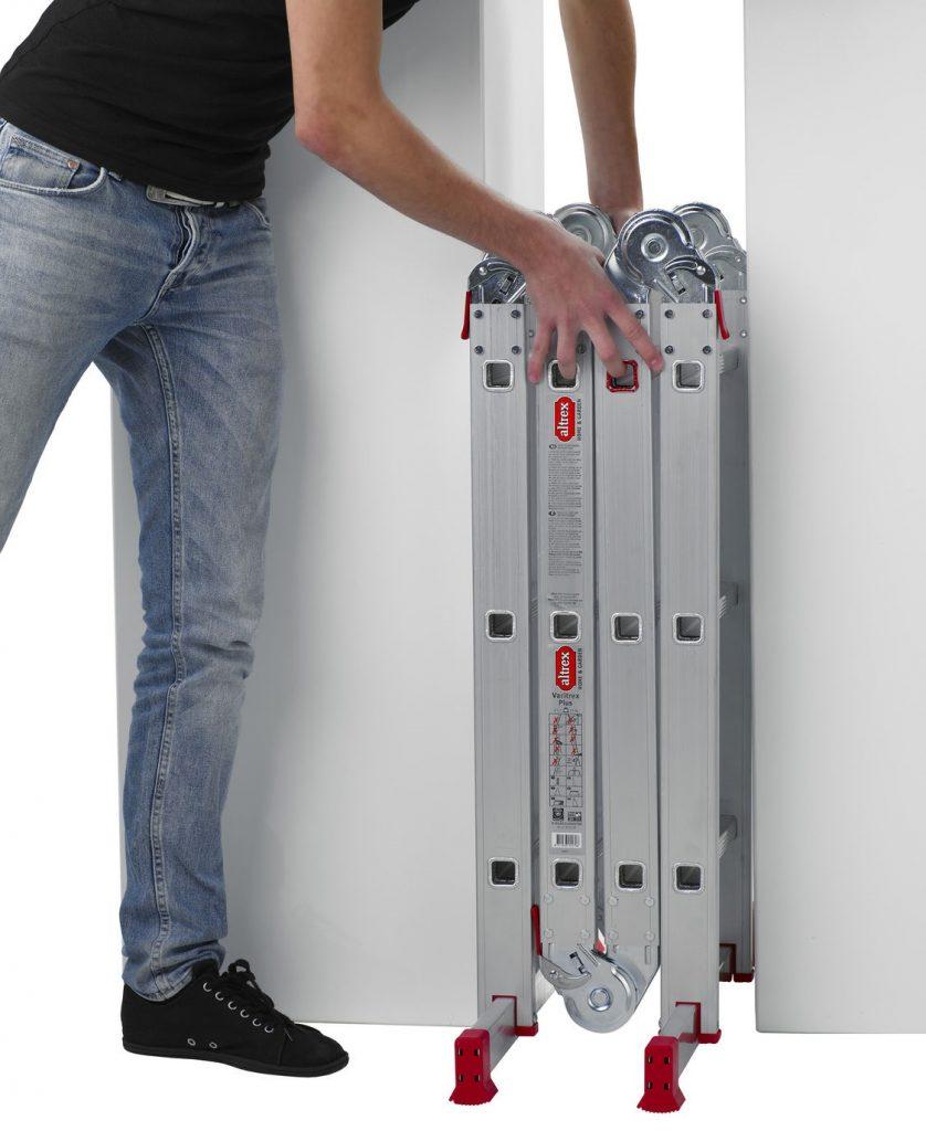 Особенности шарнирных лестниц-трансформеров