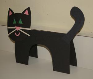 Кошка из бумаги своими руками фото 422