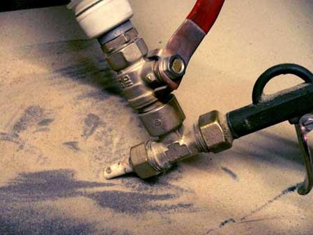 Изготовление самодельного пескоструйного аппарата своими руками в фото