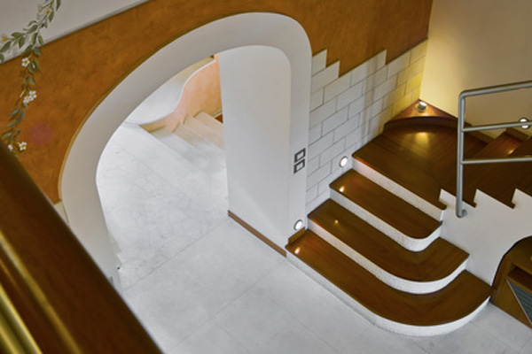 Варианты красивой отделки арки из гипсокартона в фото