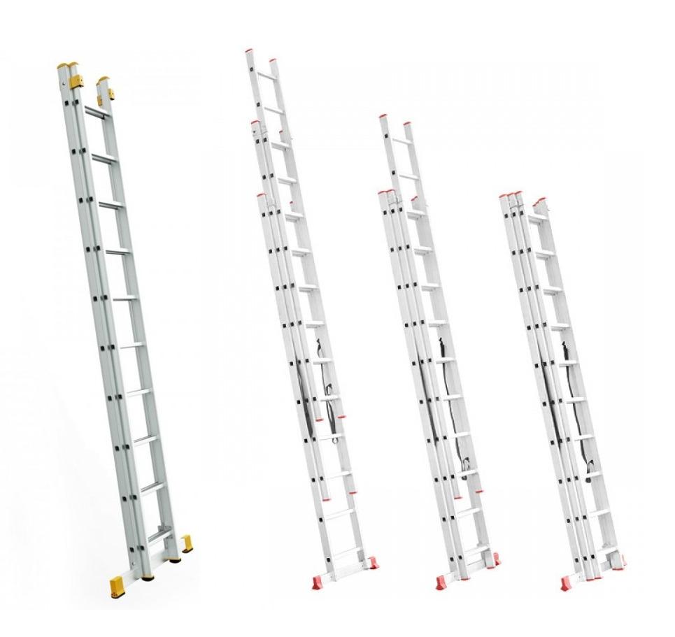 Лестницы двух и трехсекционные