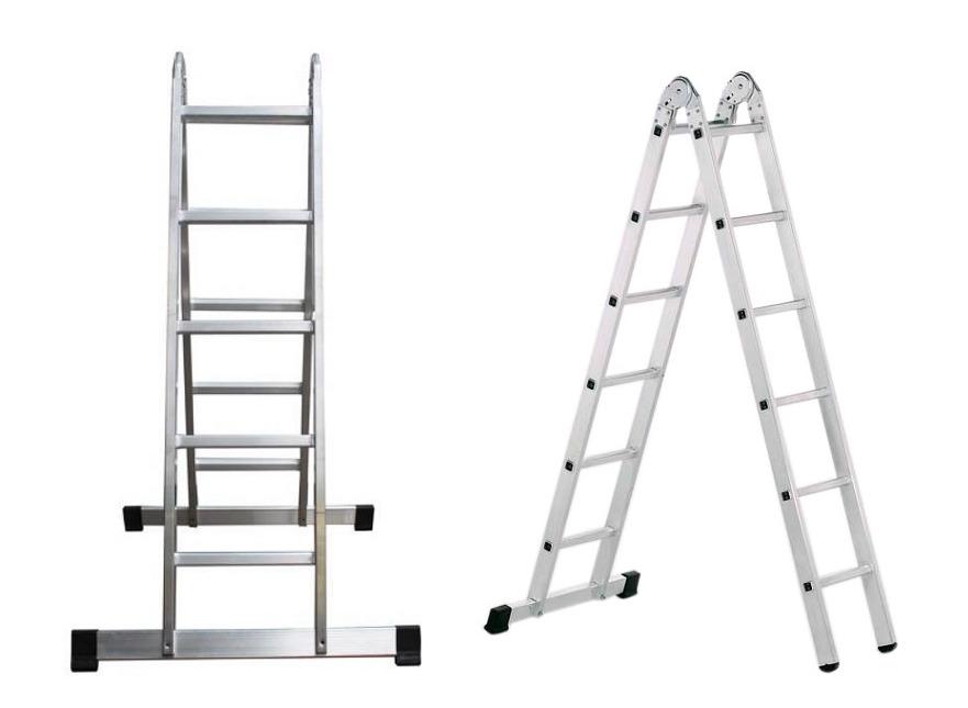 Шарнирная лестница 3 м