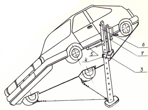 Самодельный домкрат для автомобиля своими руками чертежи 34