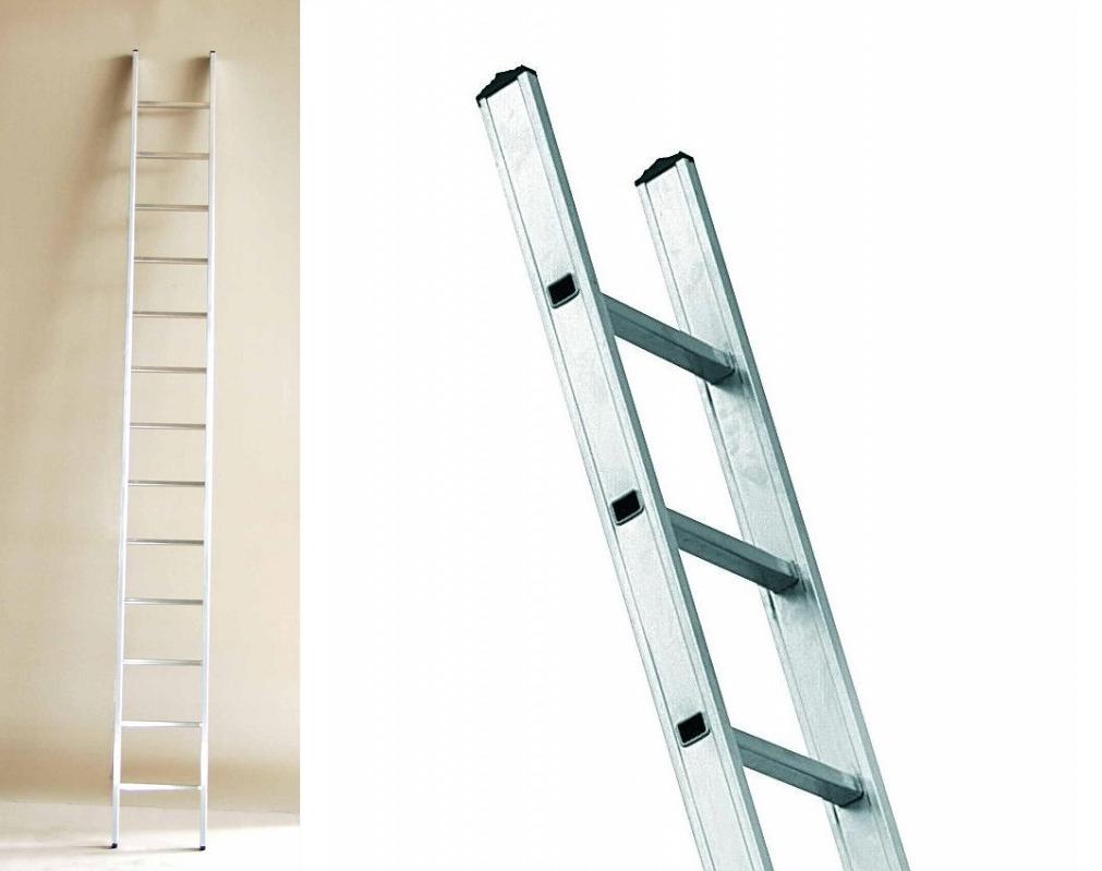 Приставная алюминиевая лестница