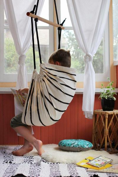Кресло-гамак своими руками в фото