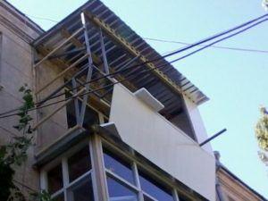 Как самому обшить балкон снаружи в фото