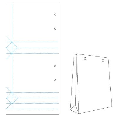 Крафт-пакеты своими руками: мастер-класс с шаблонами и фото