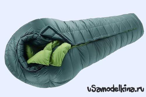 Самодельный спальный мешок своими руками в фото