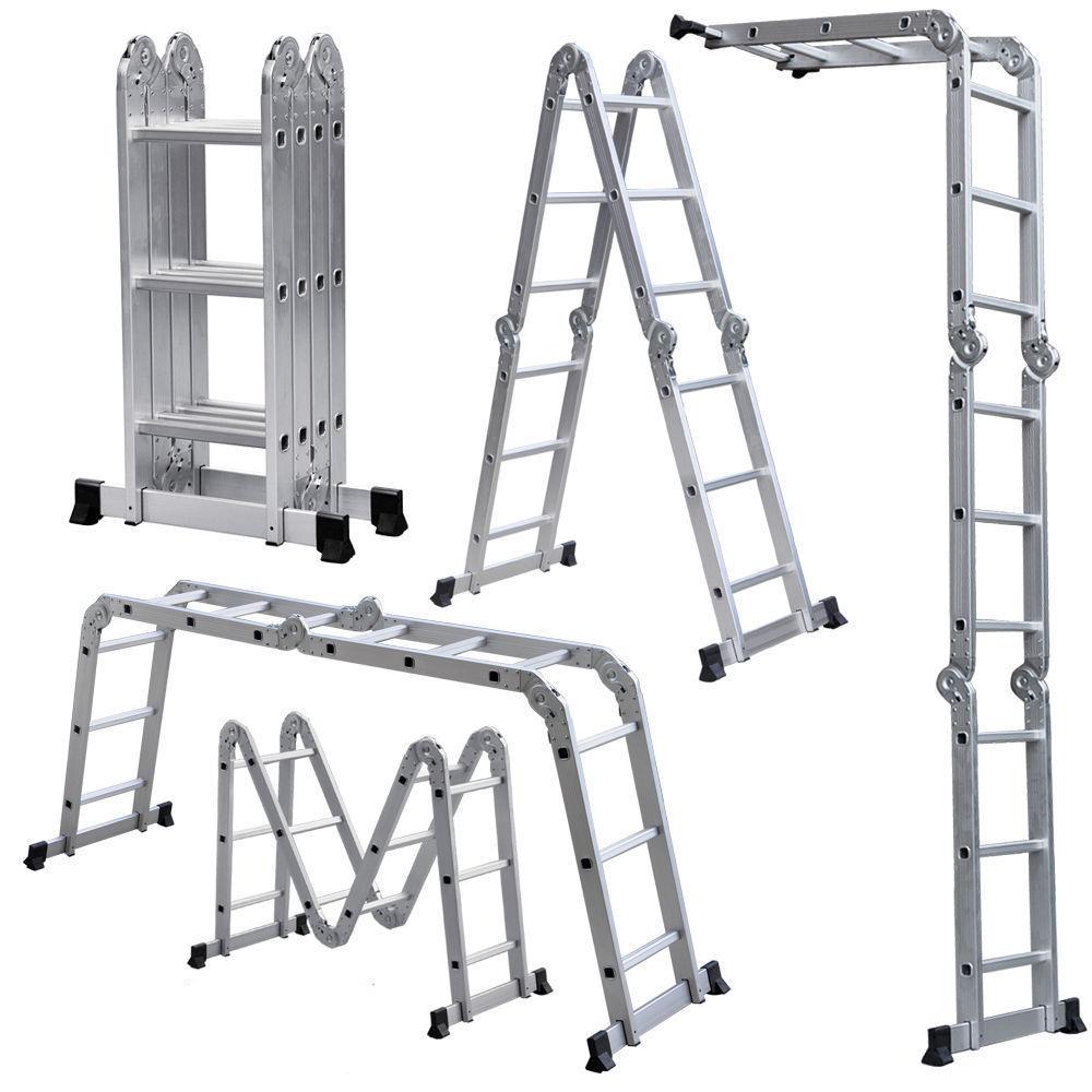 Лестницы трансформер aluminium