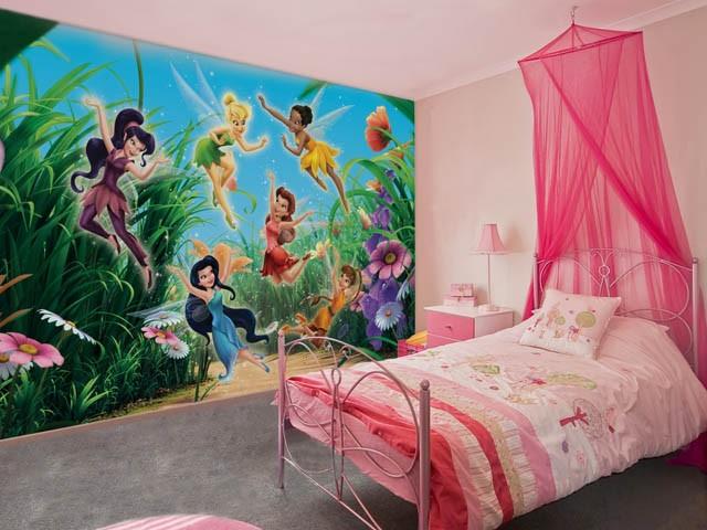 фотообои в интерьере детской комнаты 25 фото
