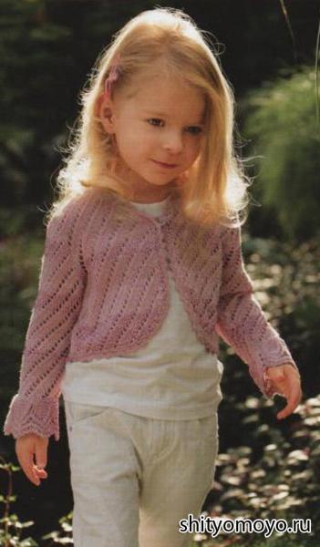 Болеро для девочки крючком: схемы и описание работы, болеро малышке 1 года с подробным мастер-классом в фото