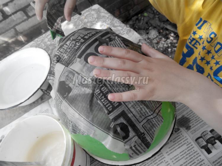 Поделки из папье маше своими руками для сада: мастер-класс с фото и видео