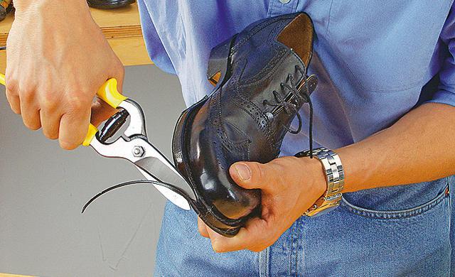 Ремонт обуви своими руками в фото