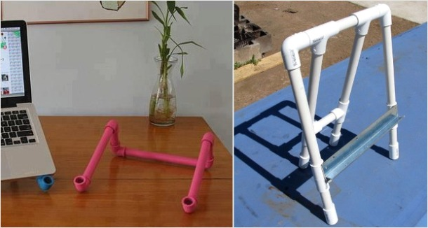 Поделки из пластиковых труб - более 30 фото-идей для дома и дачи