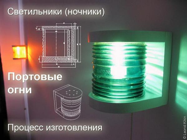 Классные ночные светильники «Портовые огни» своими руками (43 фото, чертежи, мастер-класс) в фото