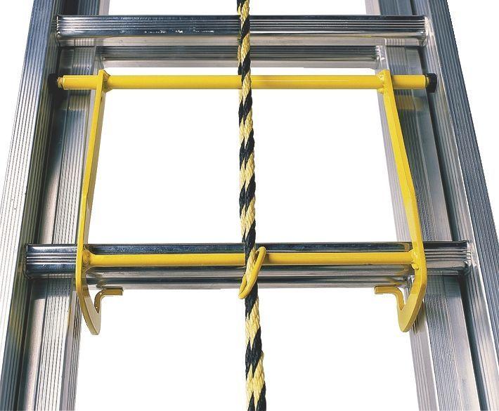 Лестница алюминиевая с канатной тягой 8 метров