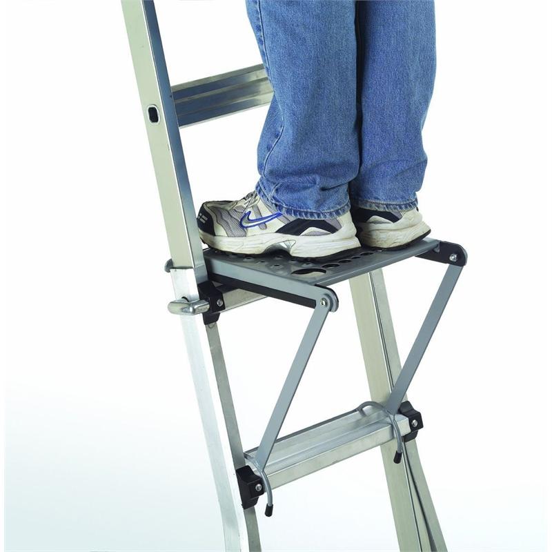 Алюминиевая лестница складная