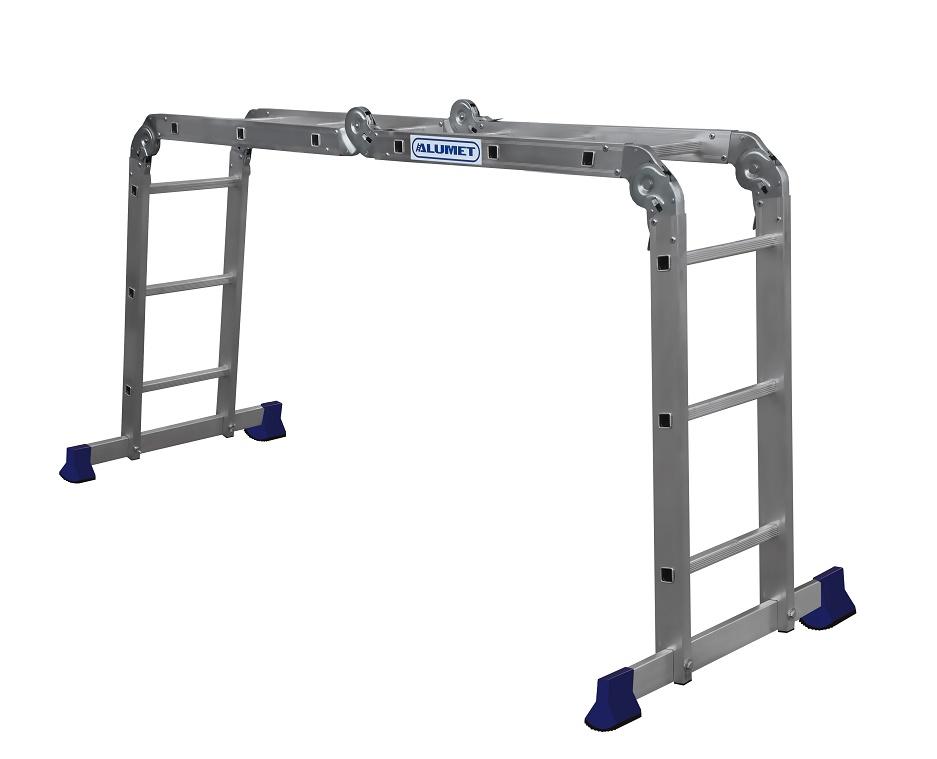Лестница-трансформер Алюмет 4х3