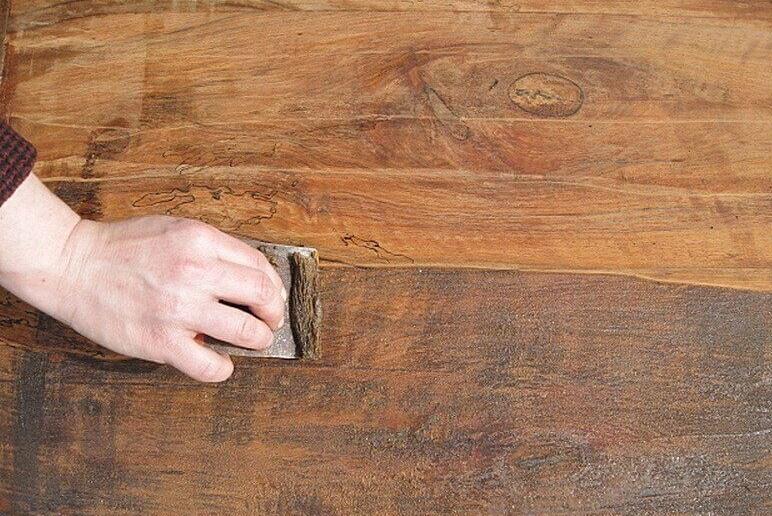 Подготовка поверхности лестницы к окрашиванию