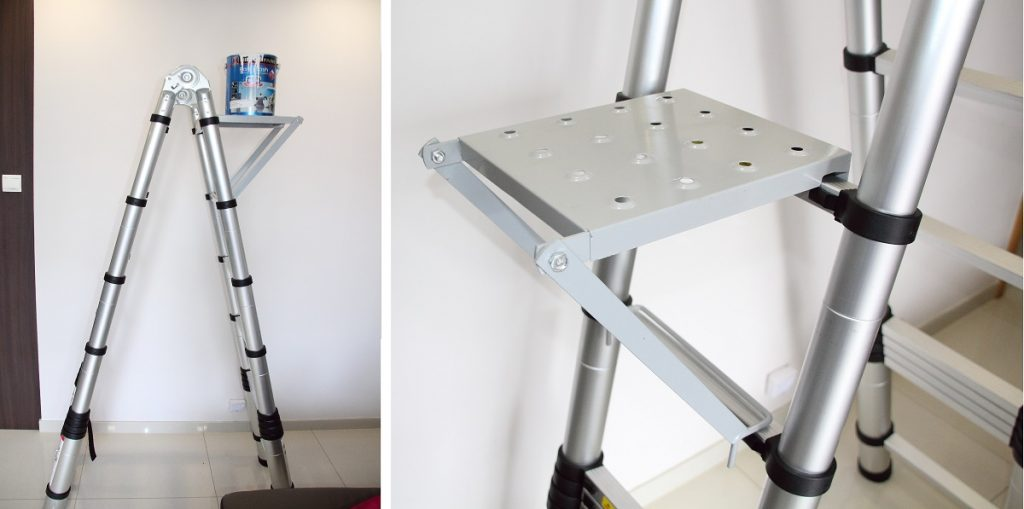 Преимущества телескопических лестниц