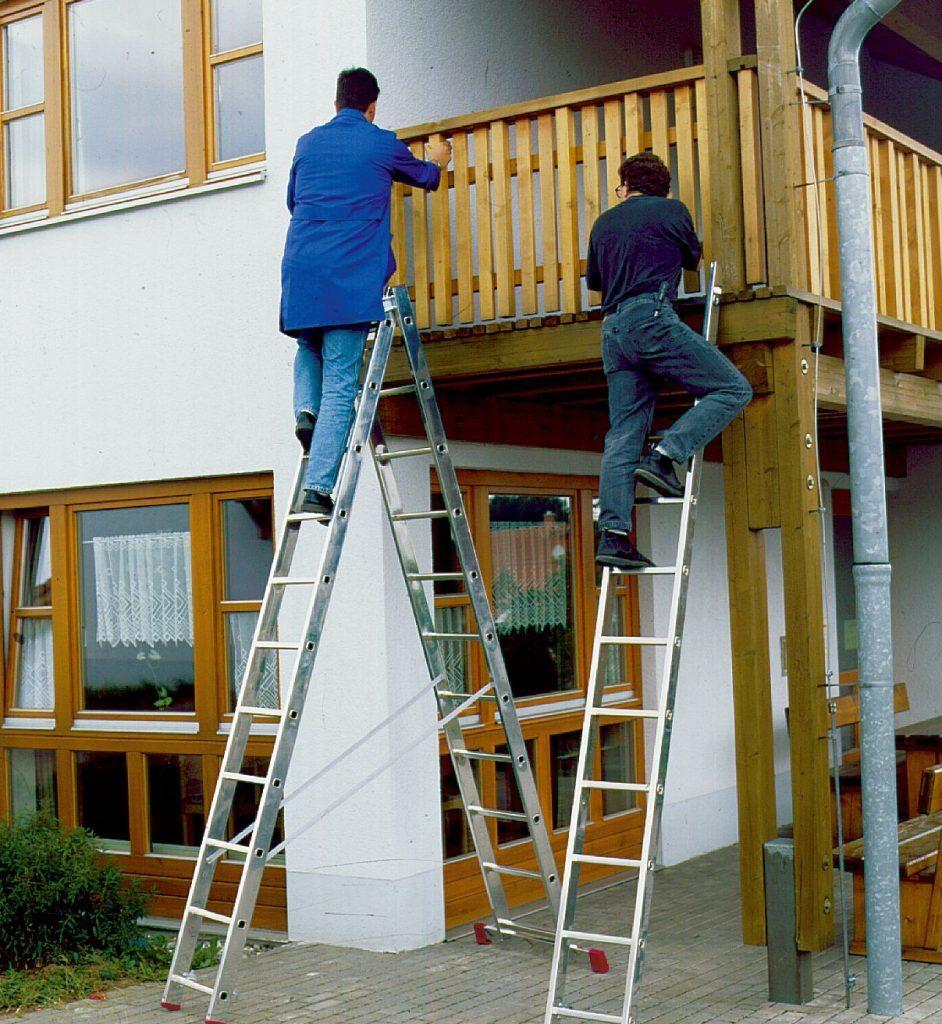 Алюминиевые лестницы и их преимущества