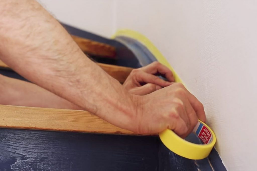 Подготовка лестницы к покраске