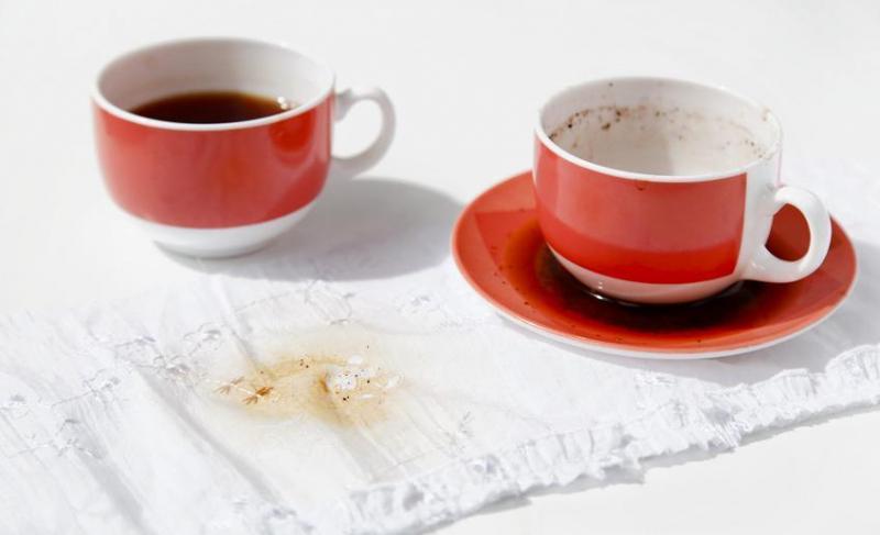 Чай пятна как удалить фото