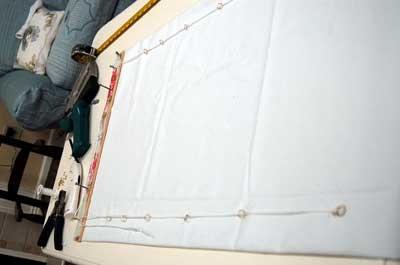 Римские шторы ручной работы в фото