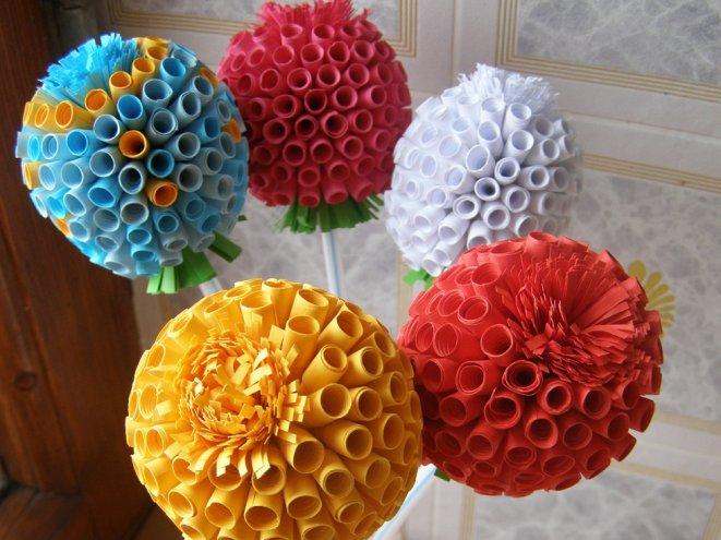 Цветы своими руками из подручных материалов фото 266