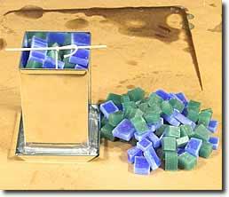 Декоративные свечи ручной работы | Цветные кубики в фото