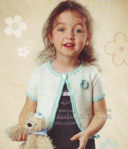 Болеро спицами: схемы и описание работы, учимся правильно вязать красивое болеро для девочки в фото