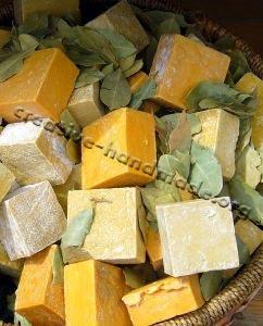 Мыло из растительных компонентов (Vegan) в фото