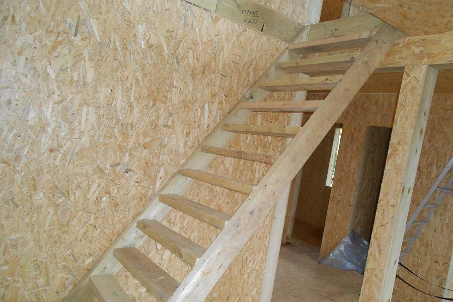 Временная лестница своими руками