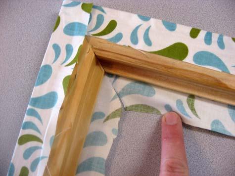 Пример рамки ручной работы в фото