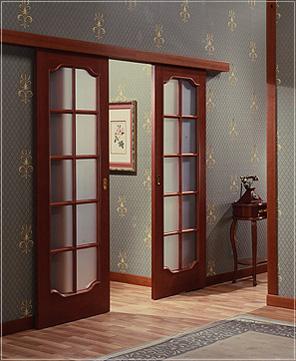 Сдвижные межкомнатные двери своими руками — основные работы (видео) в фото