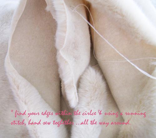 Как сделать шарф из меха фото 961