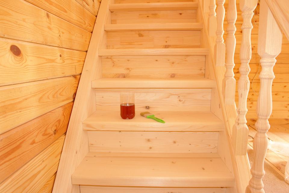 второй дача лестницы на деревянные фото этаж