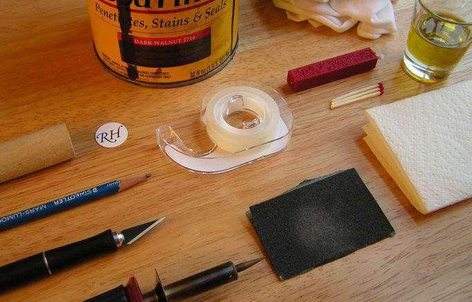 Печати своими руками: изделия из картошки, из воска и из гайки