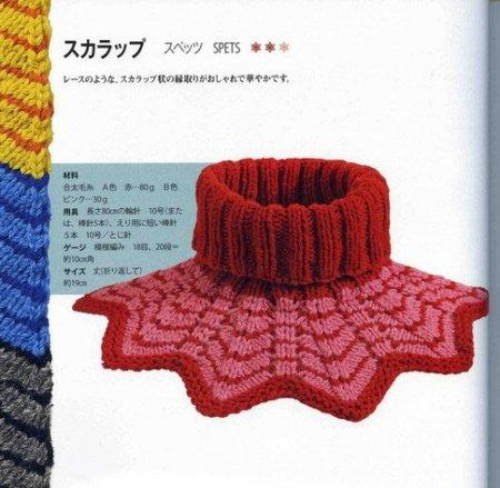 Вязание спицами манишки для детей: подробное описание и схема работы в фото